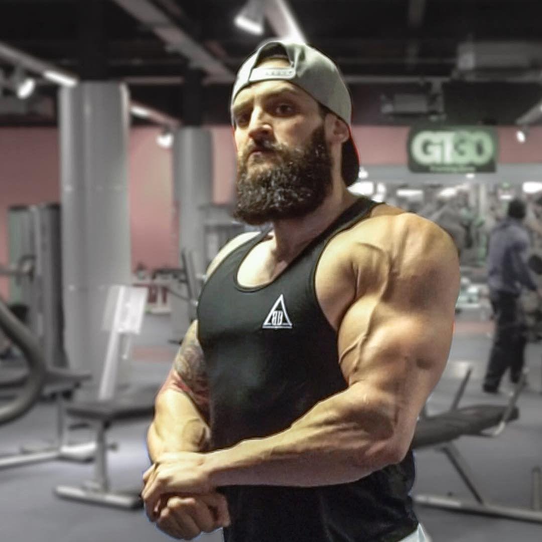 Lex Griffin Griffin Natural Bodybuilding Mens Tops