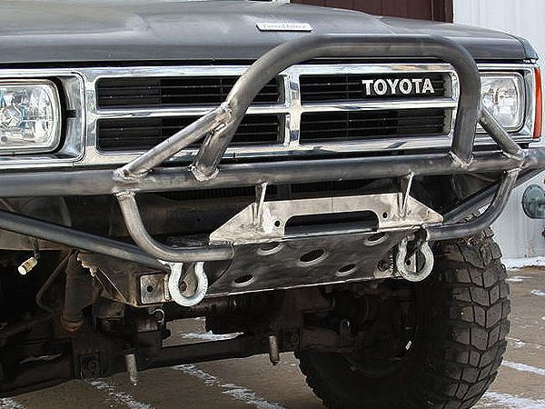 The New Style Winch Bumper Is Designed With Our New Heavy Duty Winch Plate It Includes Two D Ring Ring Mounts D Toyota Trucks Truck Bumpers Toyota Trucks 4x4