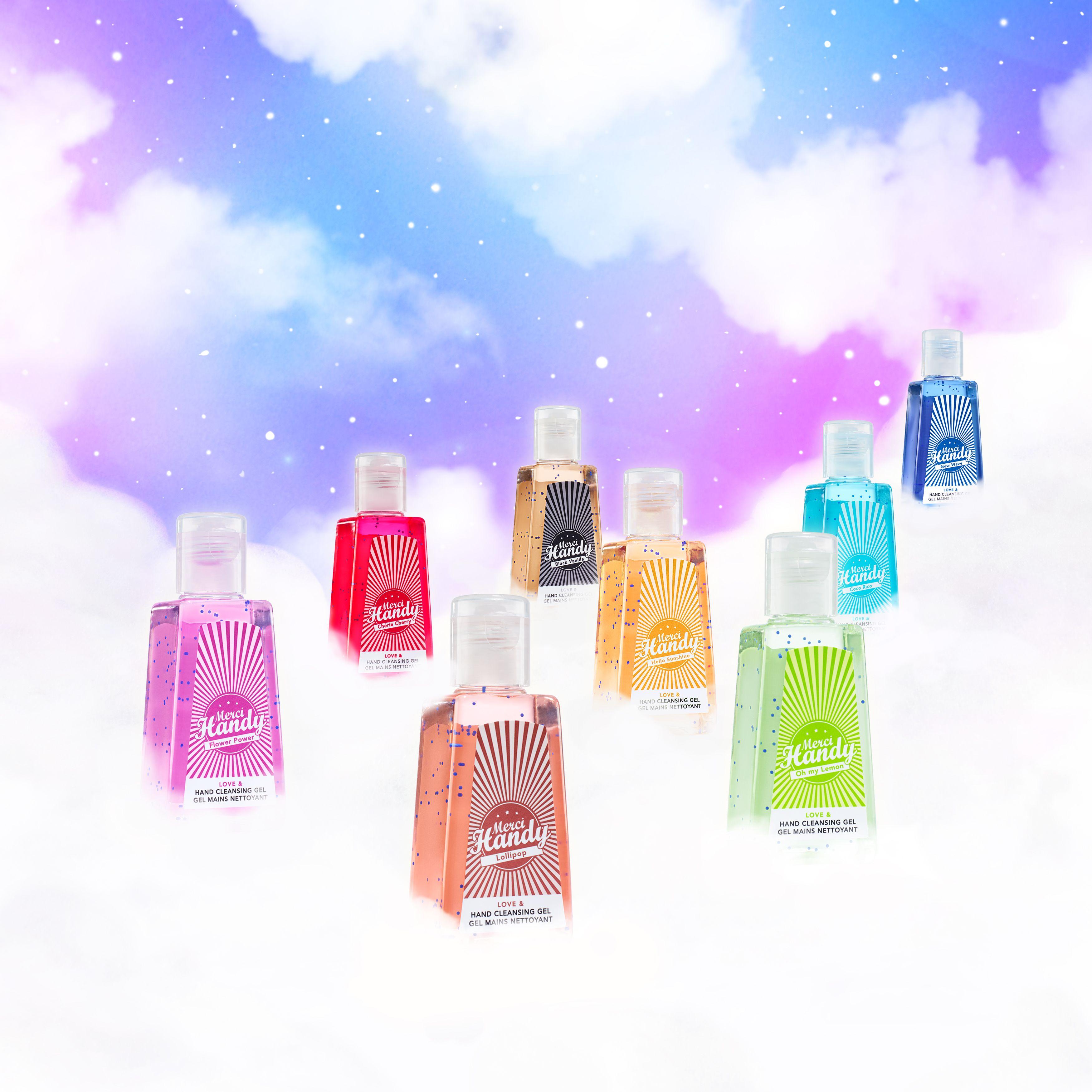 Rainbowtiful Gel Hydroalcoolique Desinfectant Pour Les Mains Et