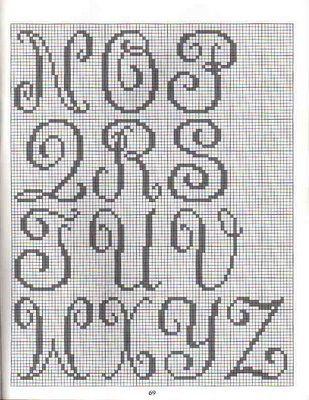 101 Chart Crochet Filet Crochet Learn How To Crochet Letras De Punto De Cruz Abecedario Punto De Cruz Punto De Cruz