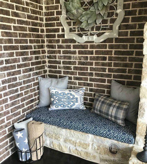 Custom Bench Seat Cushion, Window Seat Cushion, Kitchen ...