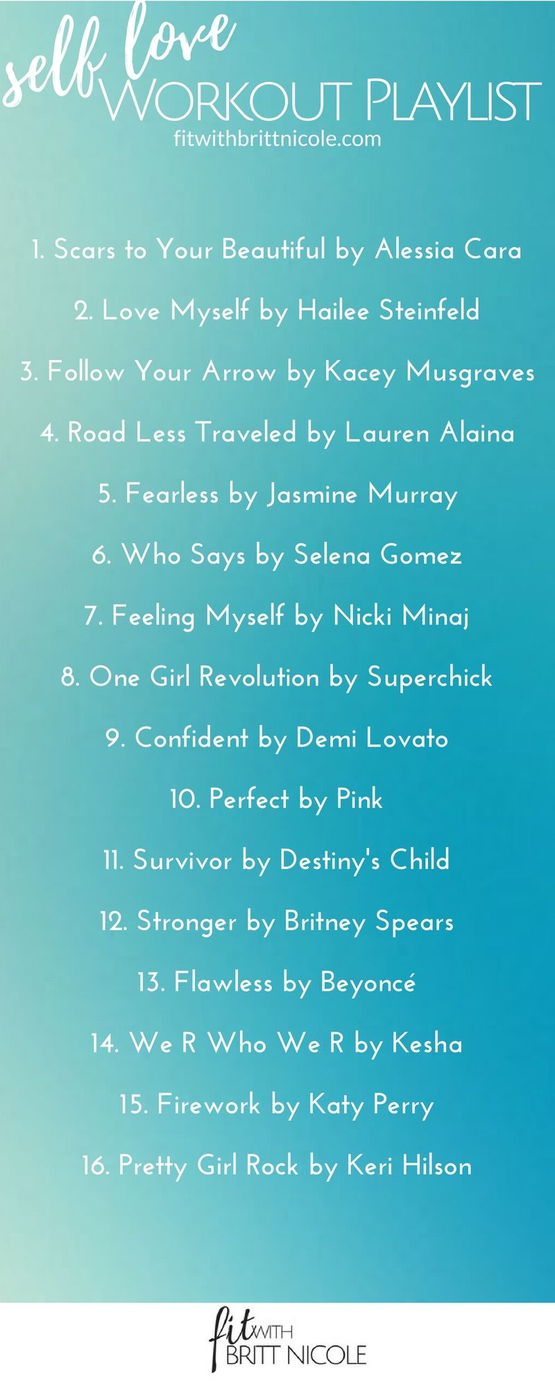 Holistic Health Fitness Coaching For Busy Women Song Playlist