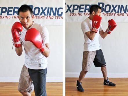 Boxing Stance Boxing Stance Ball Exercises Stance
