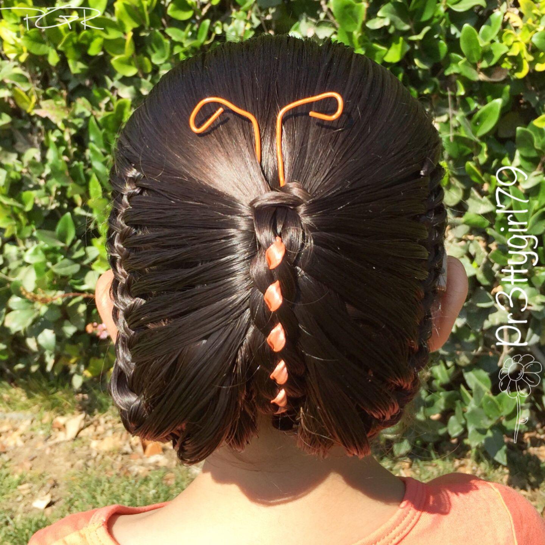 14 Peinado de mariposa