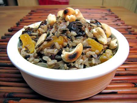 אורז בר עם פירות יבשים ואגוזים » אפונים - בלוג מתכונים בריאים