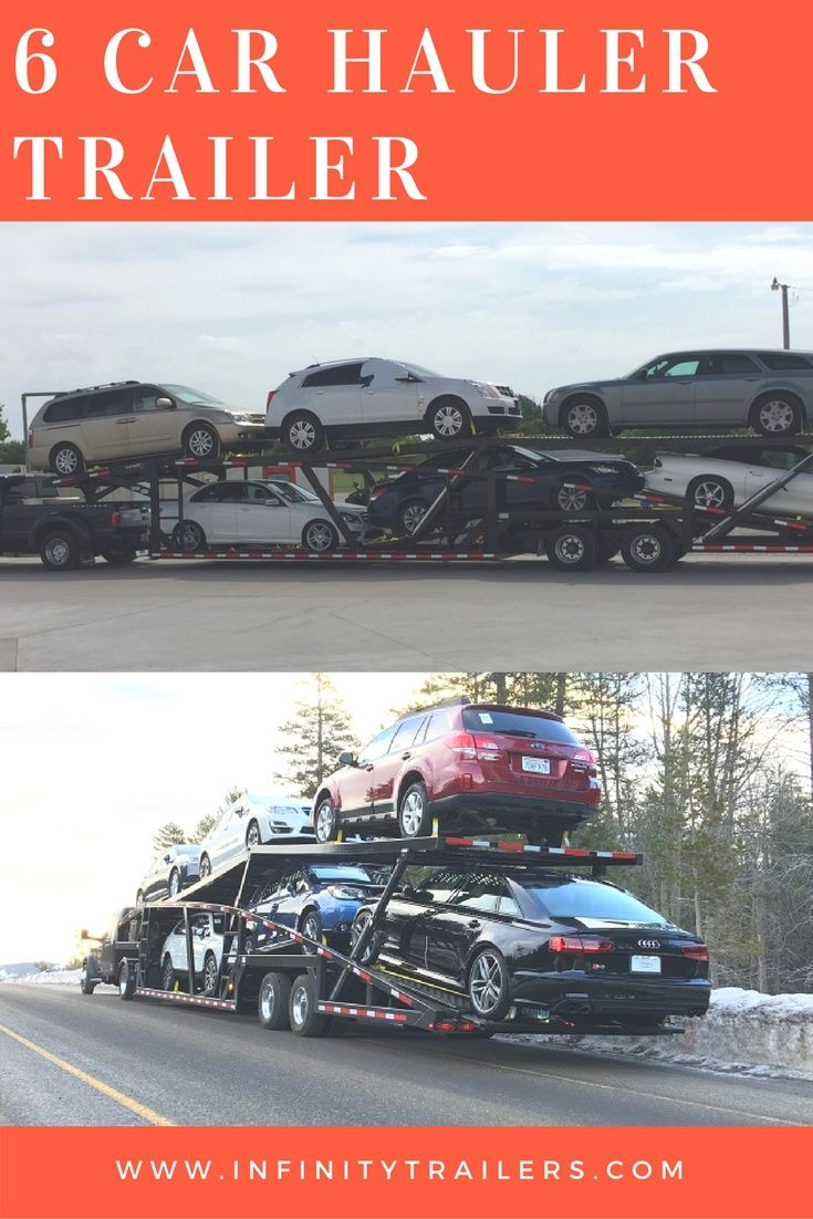 6 Car hauler trailer allows you to get mor money for your