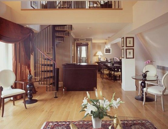 The bespoke ground floor of The Penthouse at The Scotsman