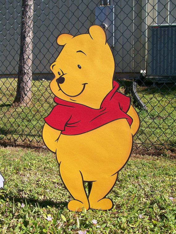 41d16a1cac5d Winnie the Pooh Character Standup or Room Decoration