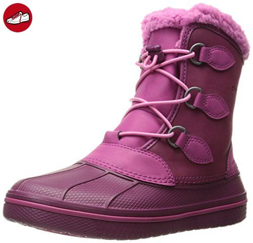 AllCast Luxe Duck Boot, Femme Bottes, Marron (Hazelnut/Stucco), 36-37 EUCrocs