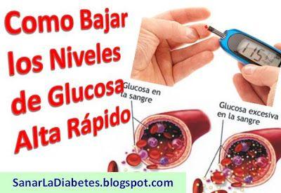 como controlar el niveles de azucar en la sangre naturalmente