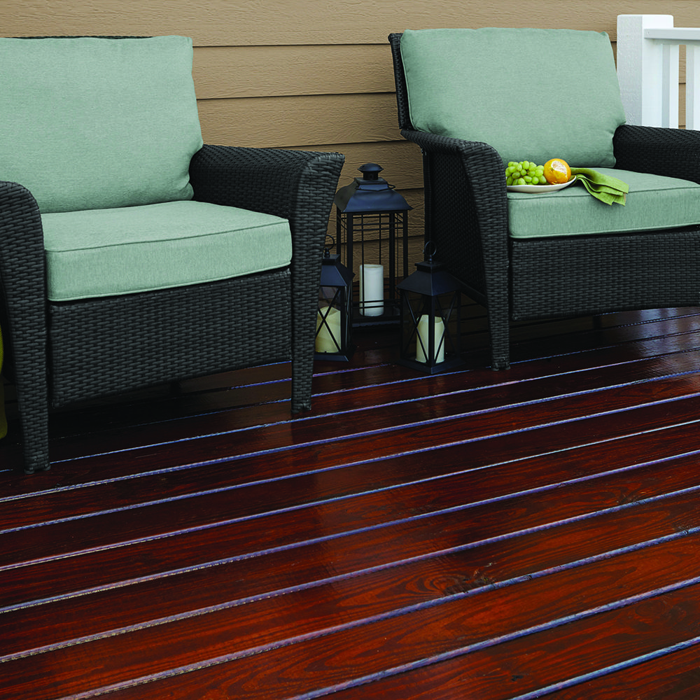 Love The Look Of Dark Wood With Cabot Gold Stain In A Fireside Cherry Finish You Can Bring Color Back To Exterior Wood Stain Staining Deck Wood Stain Colors