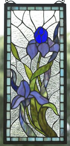 Iris Glass Panel, Glass Panels, Home Furnishings - The Museum Shop of The Art Institute of Chicago