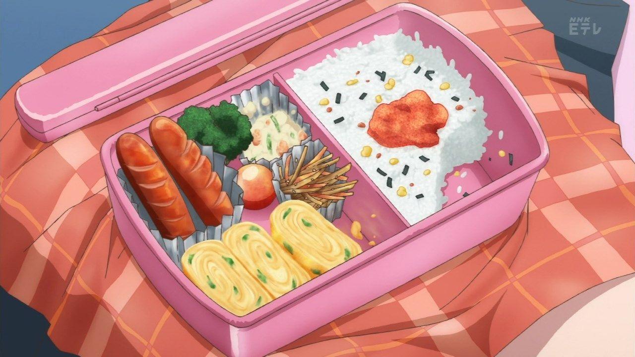 Pin On Anime Animated Food