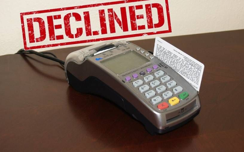 Top 5 Reasons Your Debit Credit Card Was Declined Credit Card Debit Credit Card Fraud Money Laundering