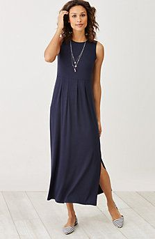 9a169c107001 Empire-waist knit maxi dress | Clothing in 2019 | Empire waist ...
