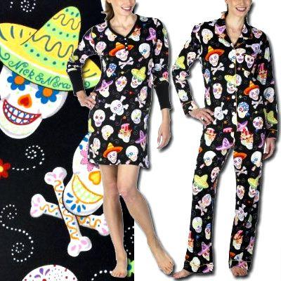 d2f39ed9e0 Deal du Jour  Nick   Nora Sugar Skull Pajamas - The Budget Babe