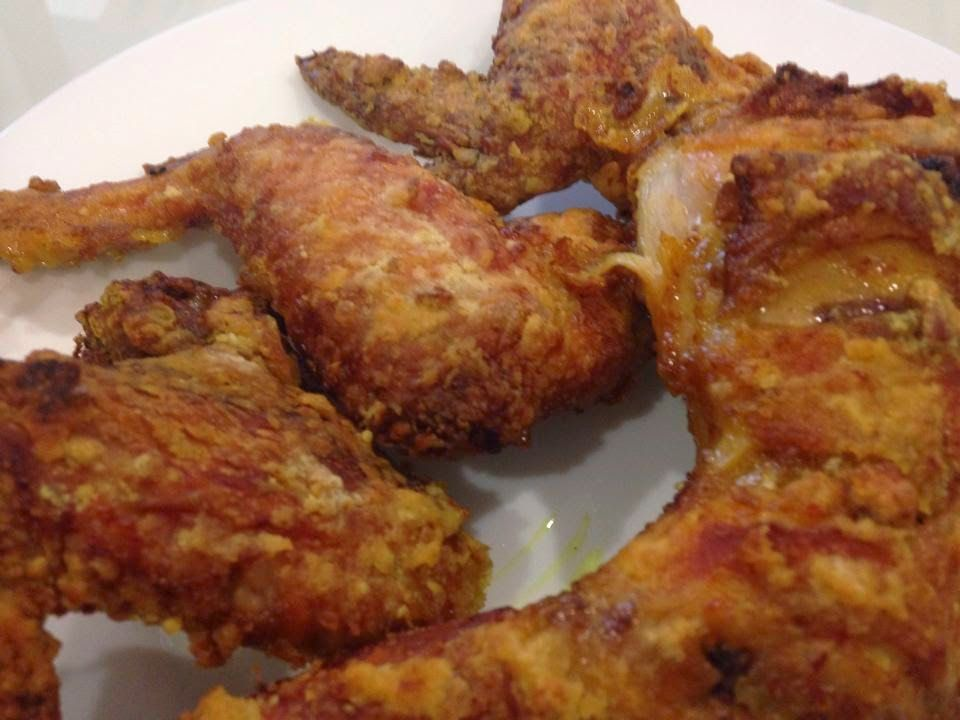 Air Fried Turmeric Chicken By Lena Lai Cooking Chicken Wing