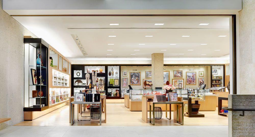 The Barnes Foundation Museum Shop Retail Design Charles Sparks Company Retail Design Design Shop Interior Design