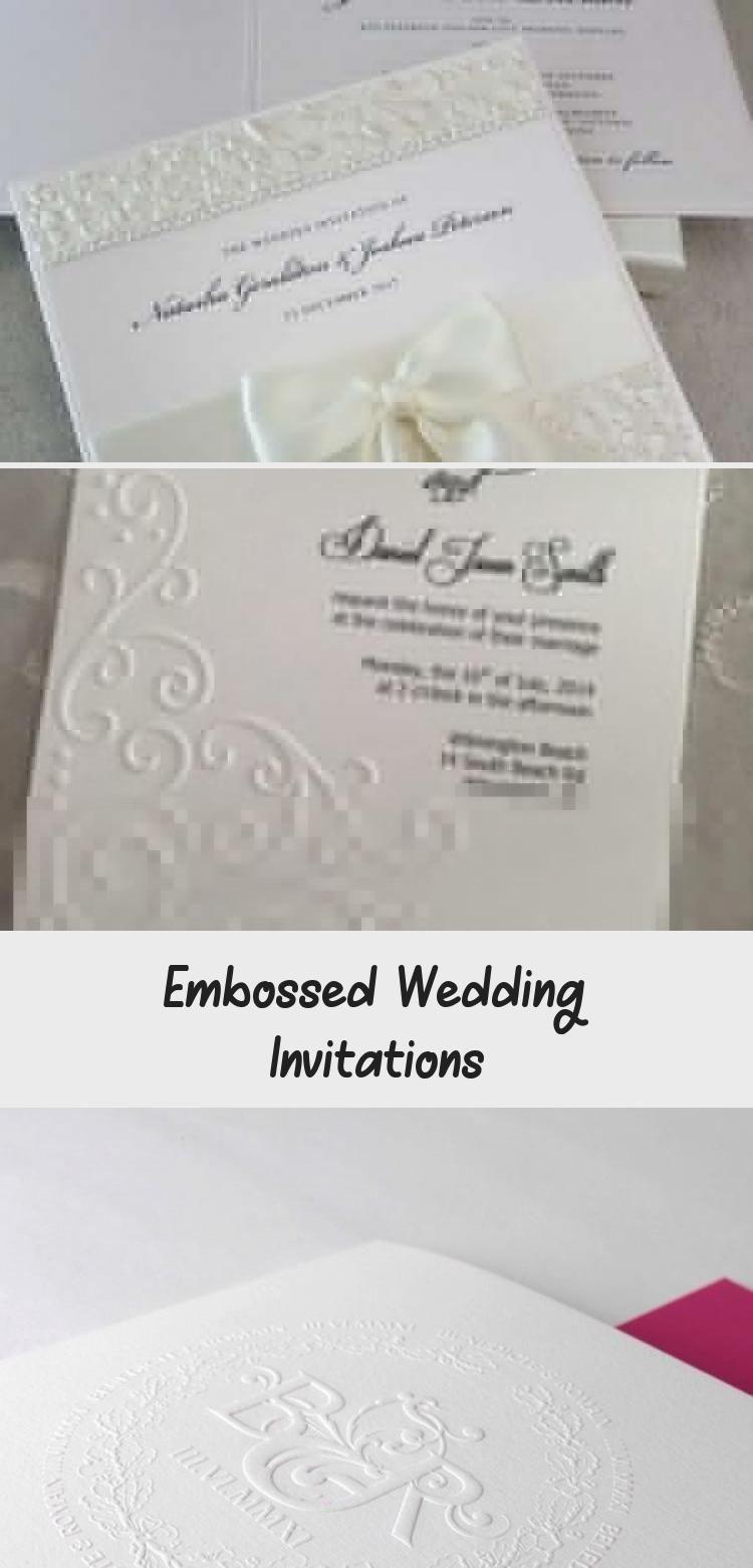 Embossed Wedding Invitations Embossed Wedding Invitations Wedding Invitations Wedding Invitation Cards