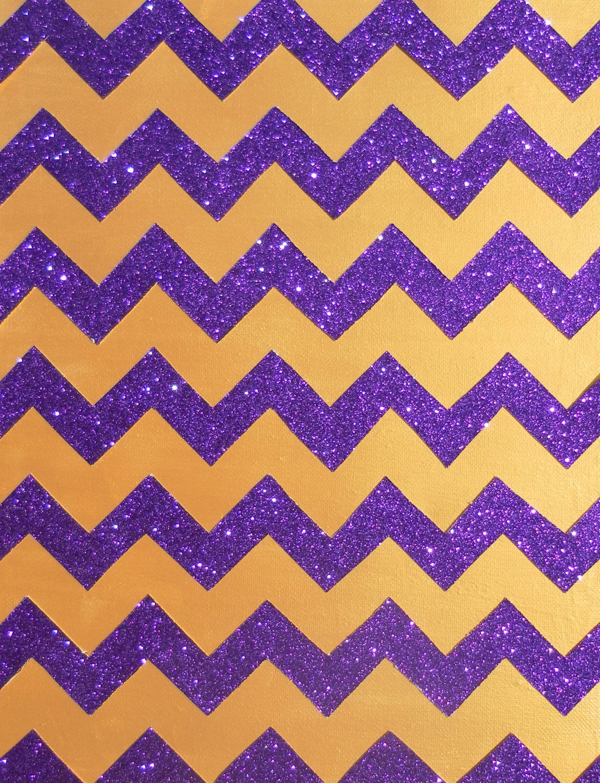 Gold And Purple Glitter Chevron Chevron Wallpaper Chevron