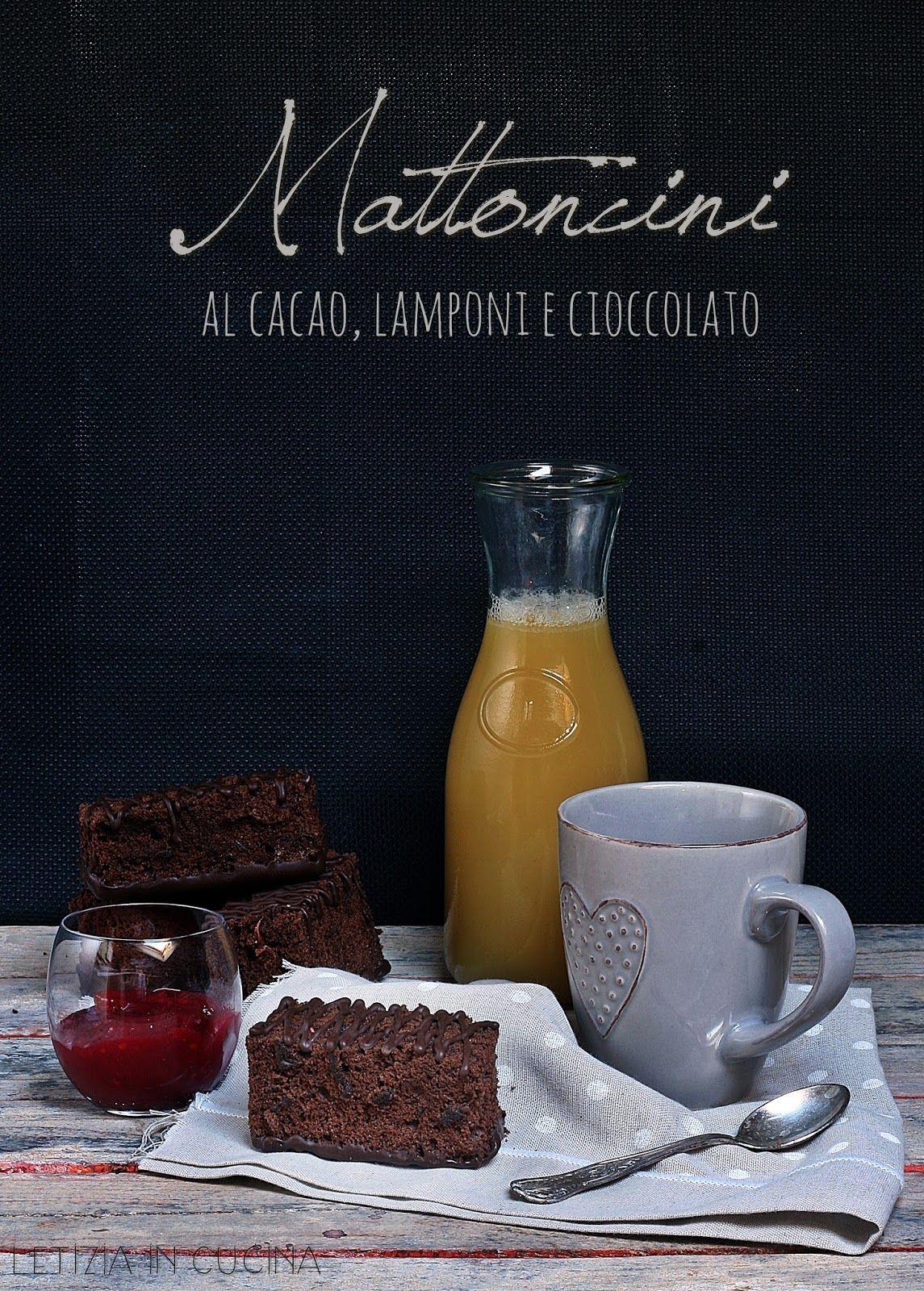 Letizia in Cucina: Mattoncini al cacao con marmellata di lamponi ...