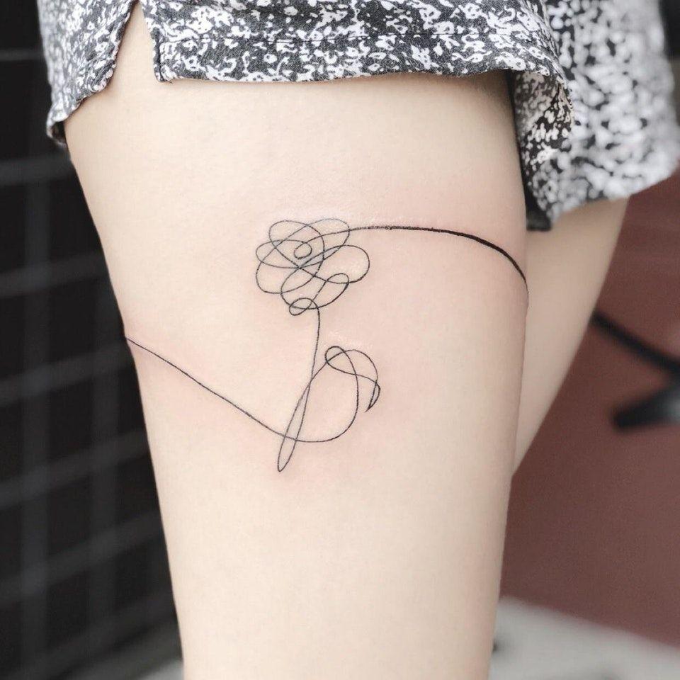My Daily Love Yourself Reminder Bangtan Bts Bts Tattoos