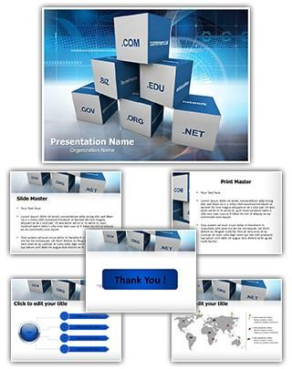 Domain Powerpoint Template Is One Of The Best Powerpoint Templates