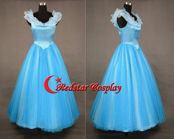 Cinderella Dress Cinderella Cosplay Cinderella Costume Dress For Girls Adult