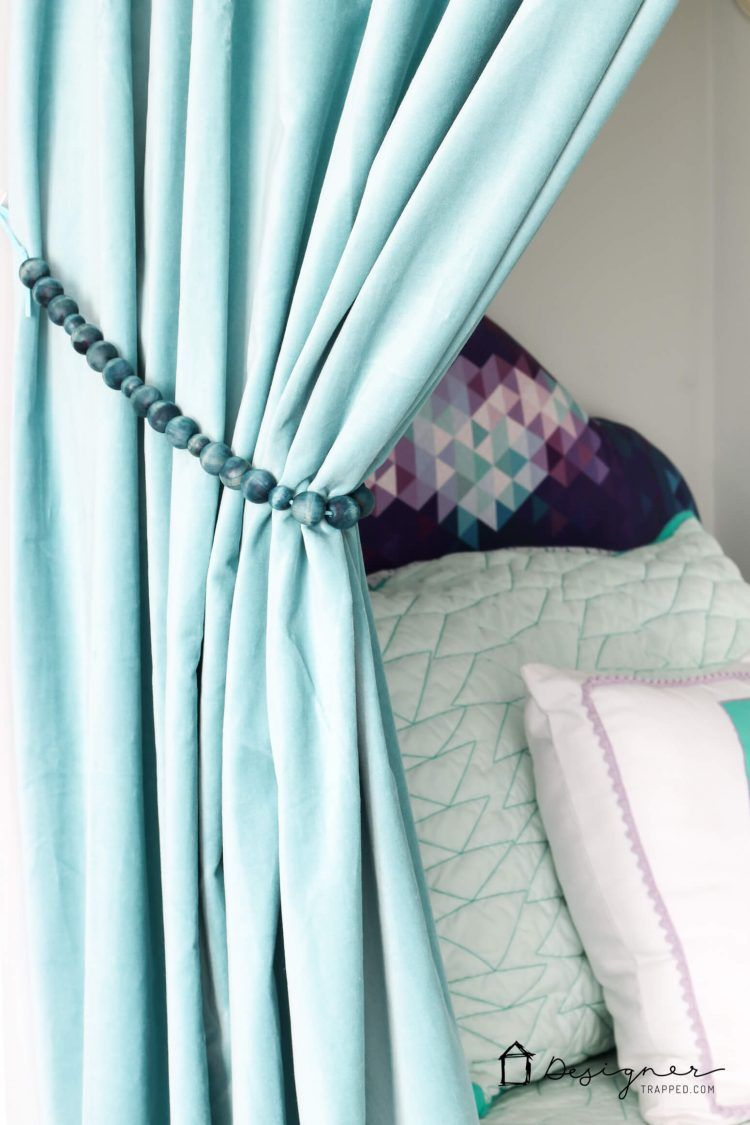 Quick And Easy Diy Curtain Tie Backs Diy Curtains