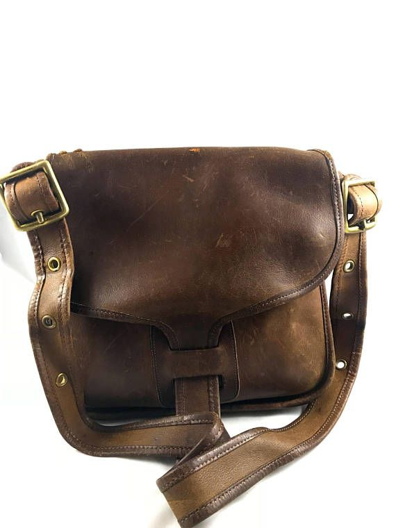 Authentic Coach Courier Saddle Bag Brown Leather Shoulder Purse Rare In 2018 Purses Pinterest Bags And