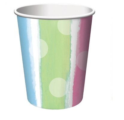 Baby Clothes 9oz. Hot / Cold Paper Cups - Baby Shower Party Supplies Online India