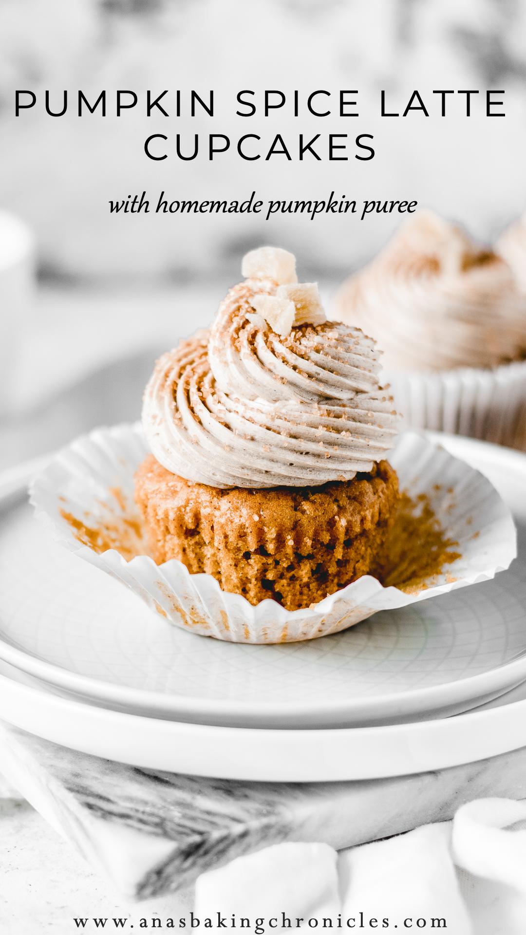 Pumpkin Spice Latte Cupcakes Recipe Pumpkin Spice Latte Cupcakes Pumpkin Spice Latte Fall Baking Recipes
