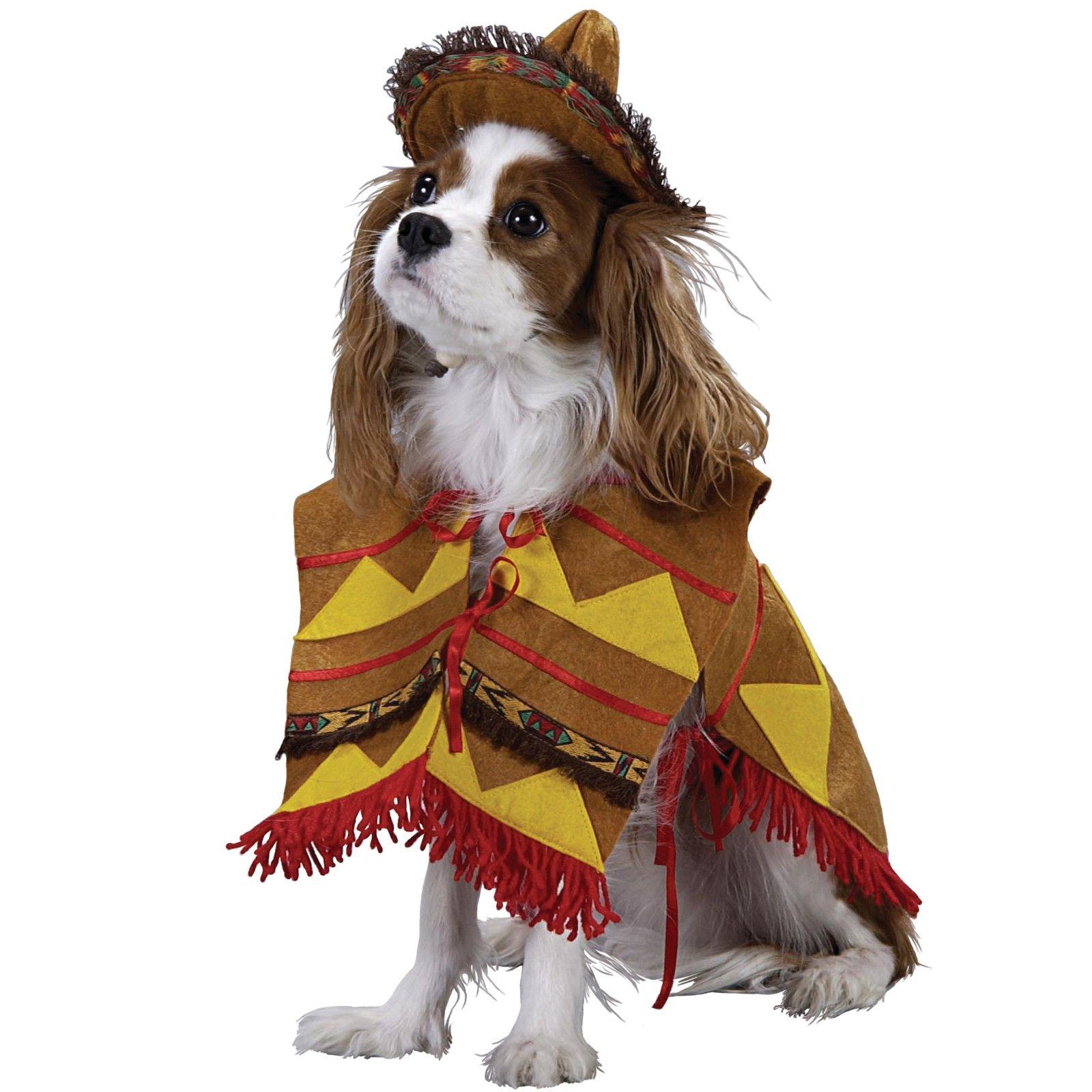Pet Costume Lil Bandito Pet Costumes Dog Halloween Costumes