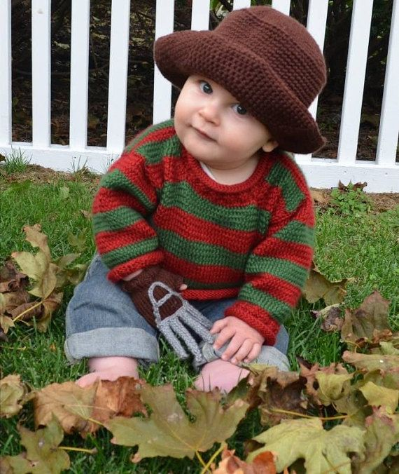 Freddie Krueger Nightmare Elm Street film Bambino Halloween Costume