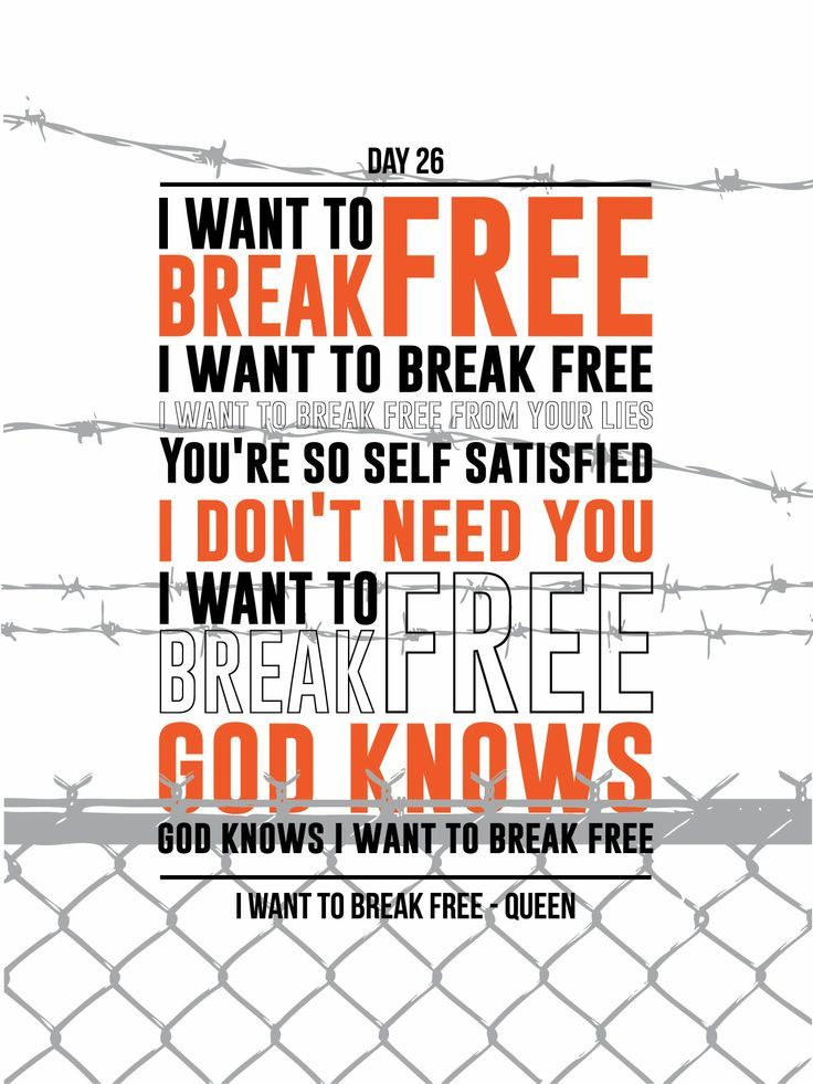 i want to breal free | Music | Pinterest