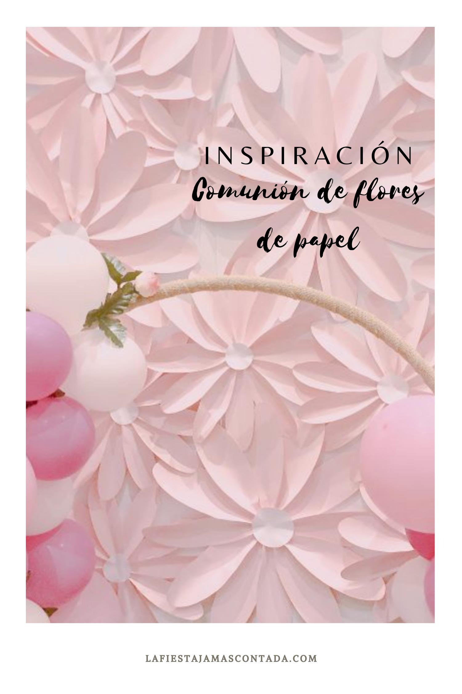 La Comunión De Flores De Papel La Fiesta Jamás Contada Libros De Comunion Sobres De Papel Flores De Papel