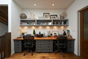 Google Home Office Furniture Home Office Design Shared Home Offices