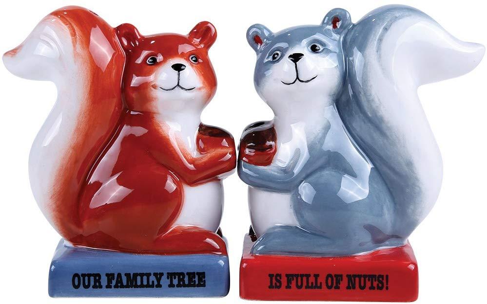 amazonde eichhörnchen familie baum voller muttern