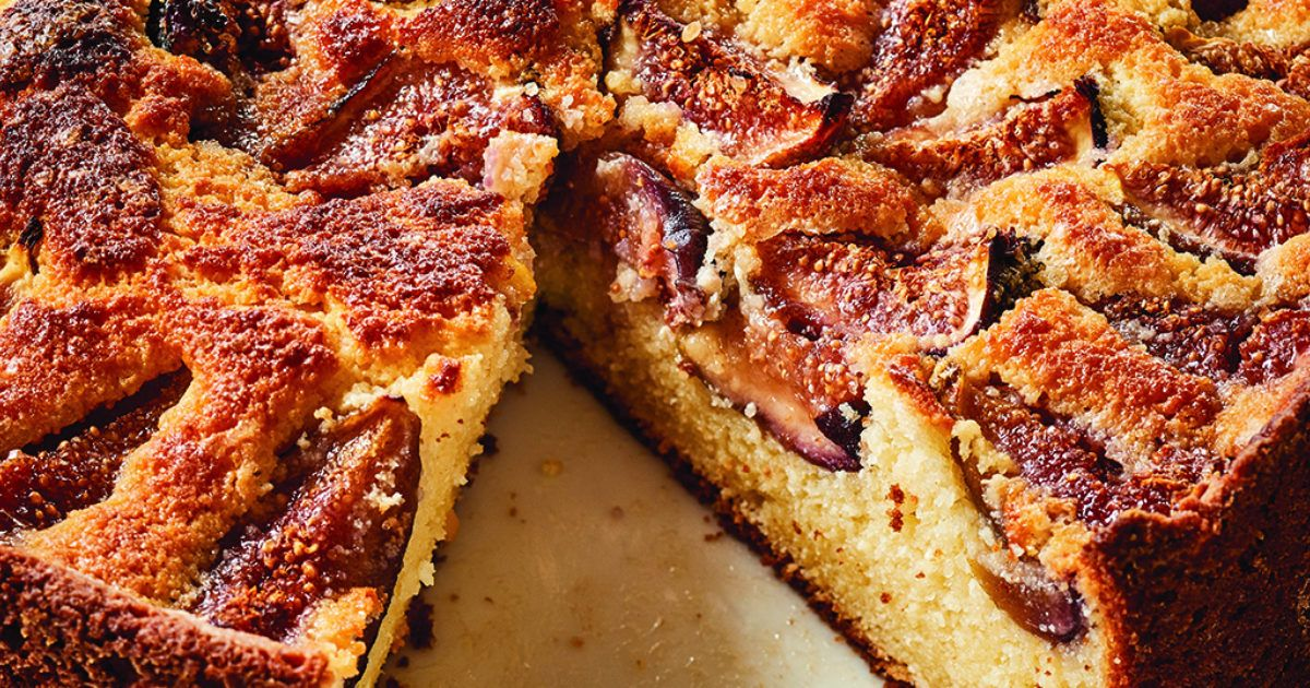 Fresh Fig Ricotta Cake Recipe With Images Fig Recipes