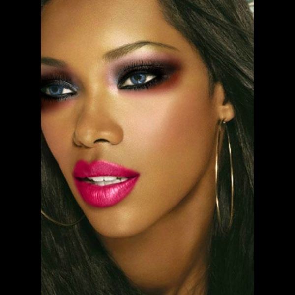 makeup..!!♥ created using TAAZ Virtual Makeover