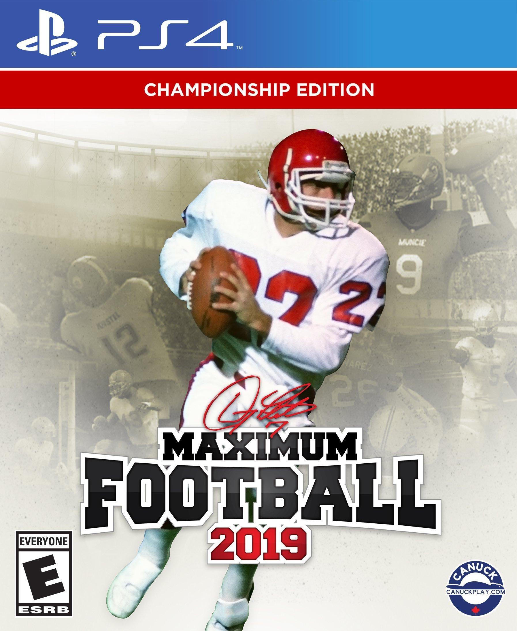 Doug Flutie Maximum Football 2019 PlayStation 4