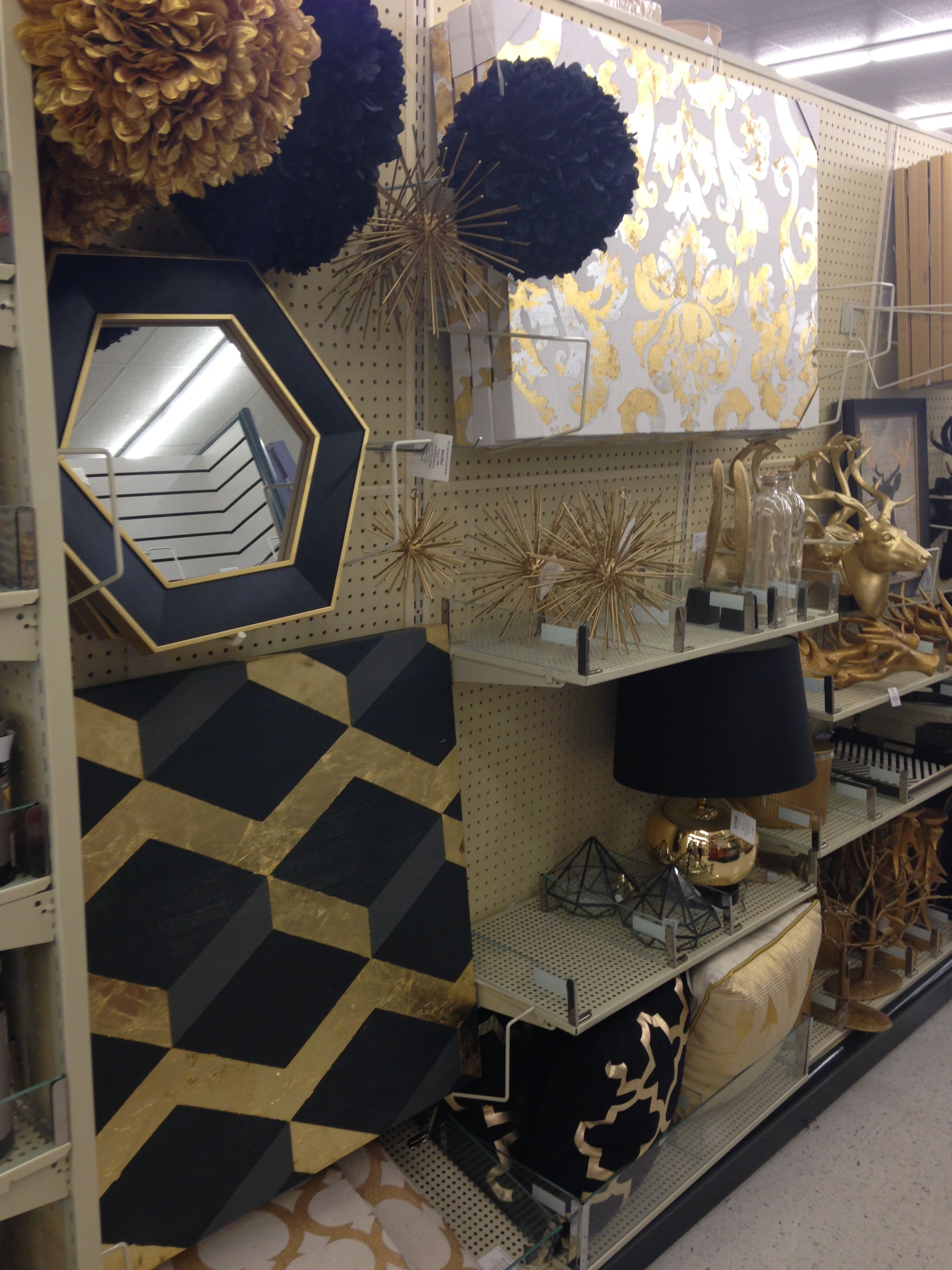 Black & Gold Hobby Lobby Finds New Apartment Decor  Pinterest Mesmerizing Black And Gold Bedroom Ideas Decorating Design