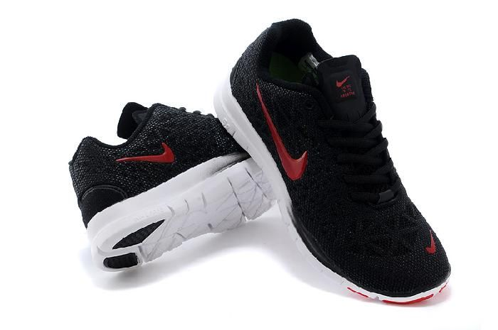 New Chaussures Nike Free Run Femme Chaussures New Noir Rouge Fashion shoes bbba8e
