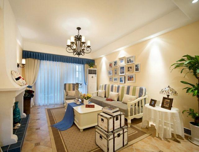 Mediterrane Wohnideen- 22 Vorschläge für ein Ambiente zum Verlieben - wohnideen wohnzimmer mediterran