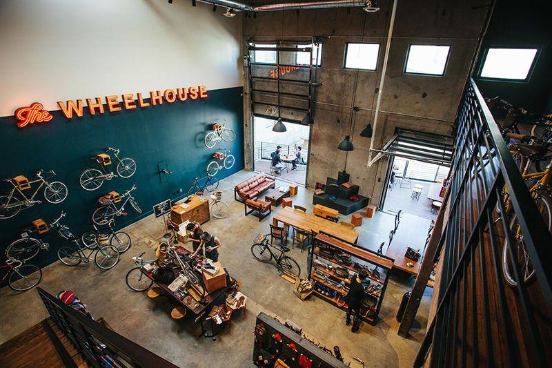 Hybrid Bike Shop Cafes Bicycle Cafe Bike Shop Coffee Bike