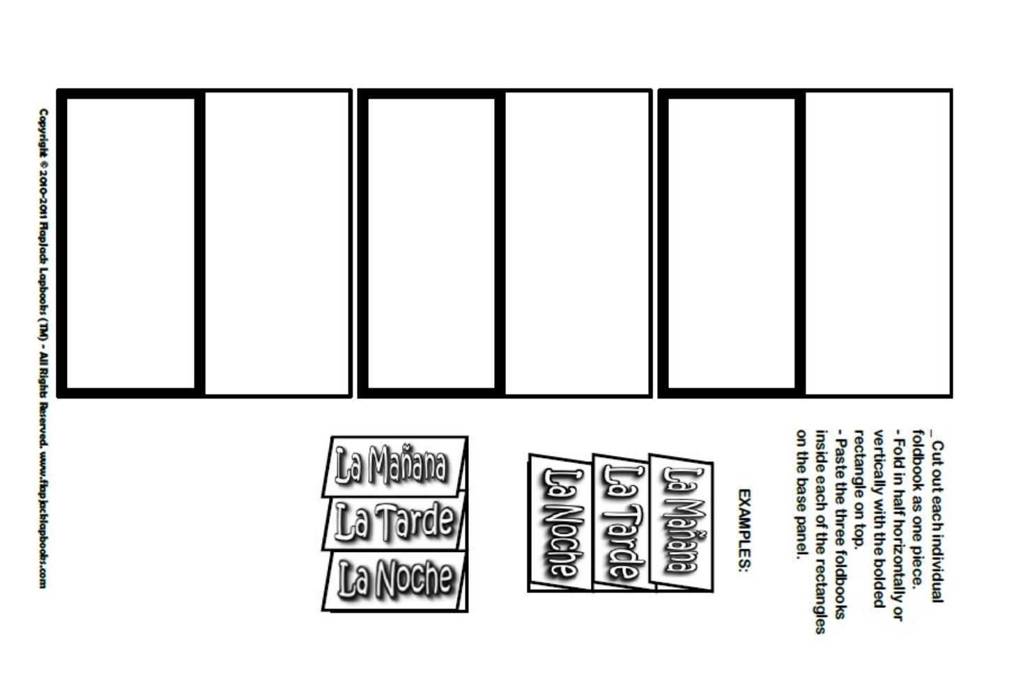 Plantillas lapbook - Education | LAPBOOK | Pinterest