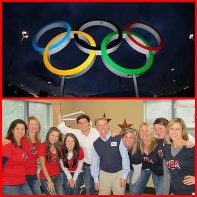Olympic Spirit #TeamUSA Charlotte celebrations for Team USA #WeCreateSmilesThatChangePeoplesLives