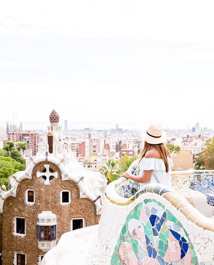 """1,248 Likes, 66 Comments - #SidewalkerDaily For A Feature (@sidewalkerdaily) on Instagram: """"Morning lookouts never looked so good 👌🏻 Thanks Gaudi ❤ @trisataro (Barcelona, Spain)  …"""""""
