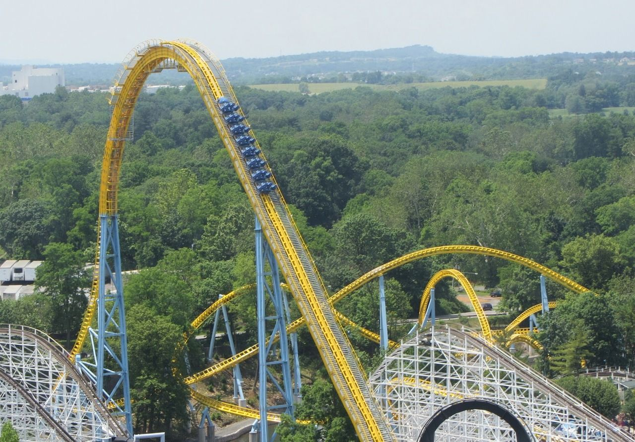 Skyrush Hershey Park Lost My Keys On This Even Though They Were