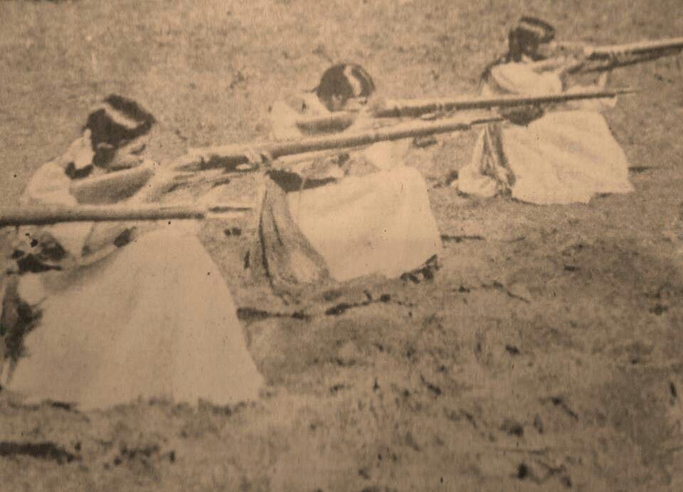 Mujeres revolucionarias en Michoacan, 1913